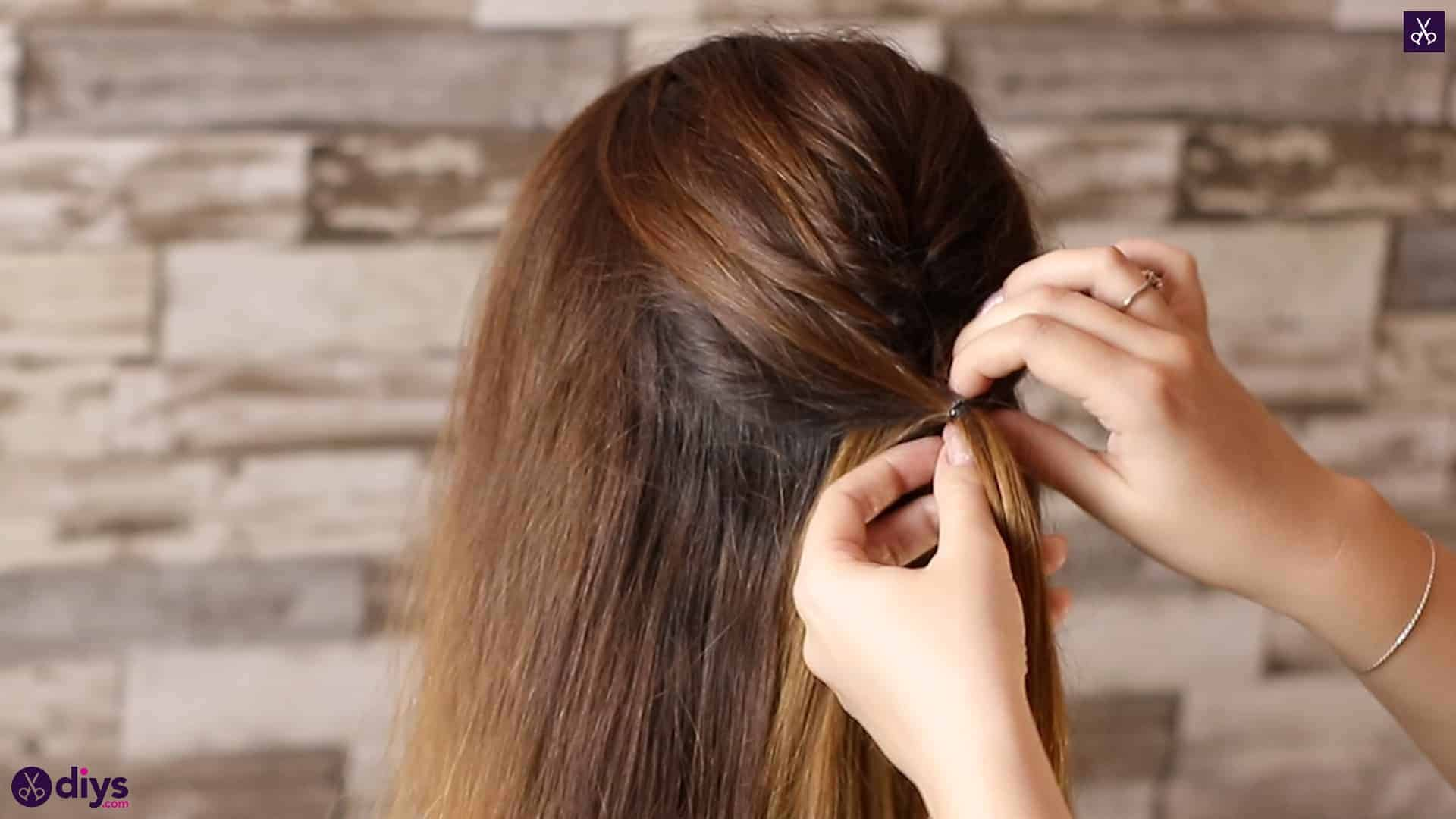 Beautiful and elegant hairstyle tutorial 24