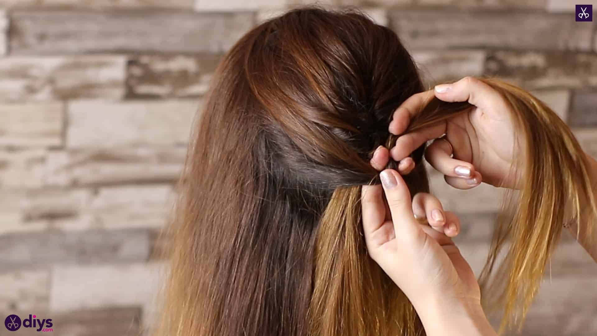 Beautiful and elegant hairstyle tutorial 25