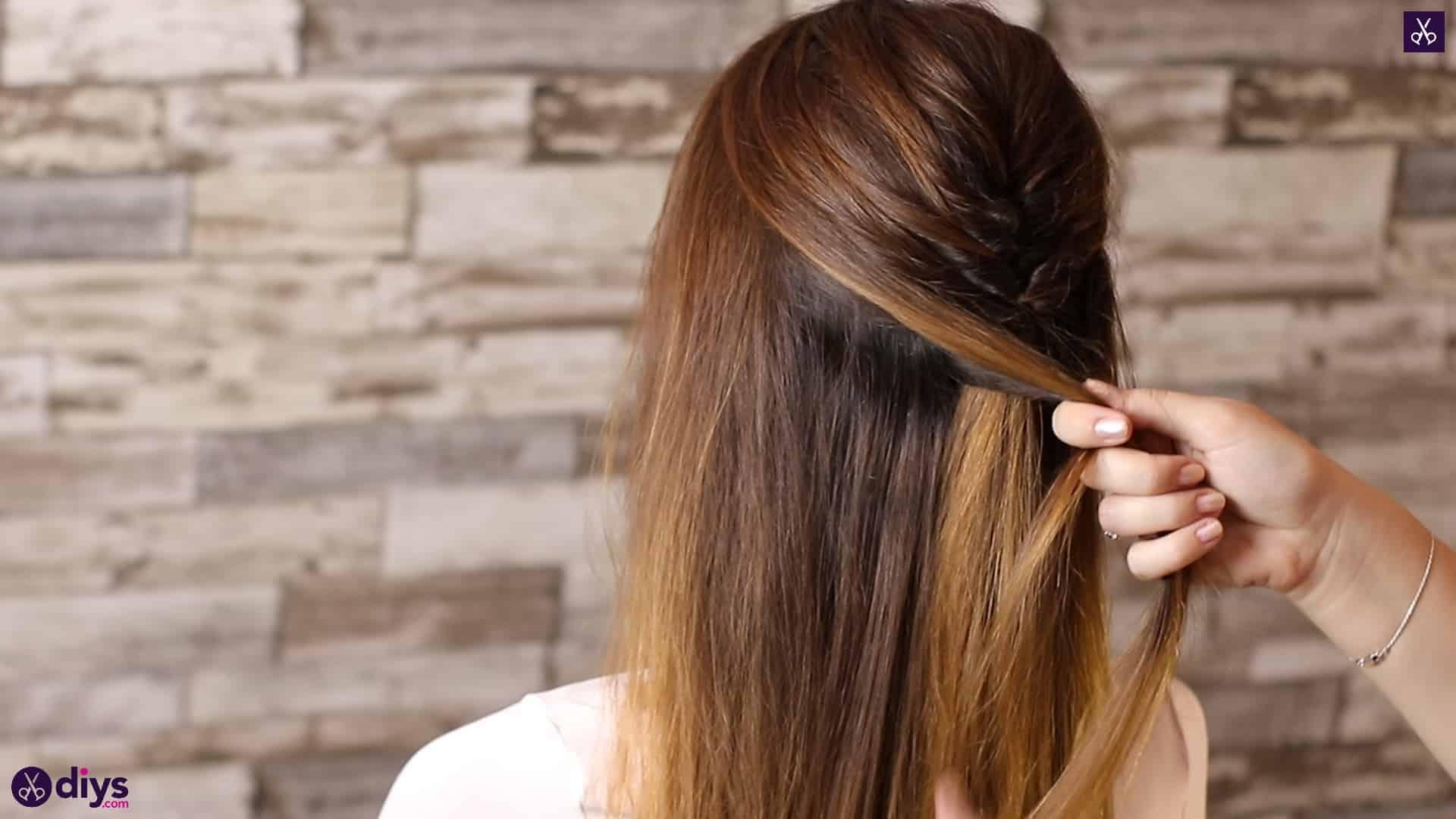 Beautiful and elegant hairstyle tutorial 27