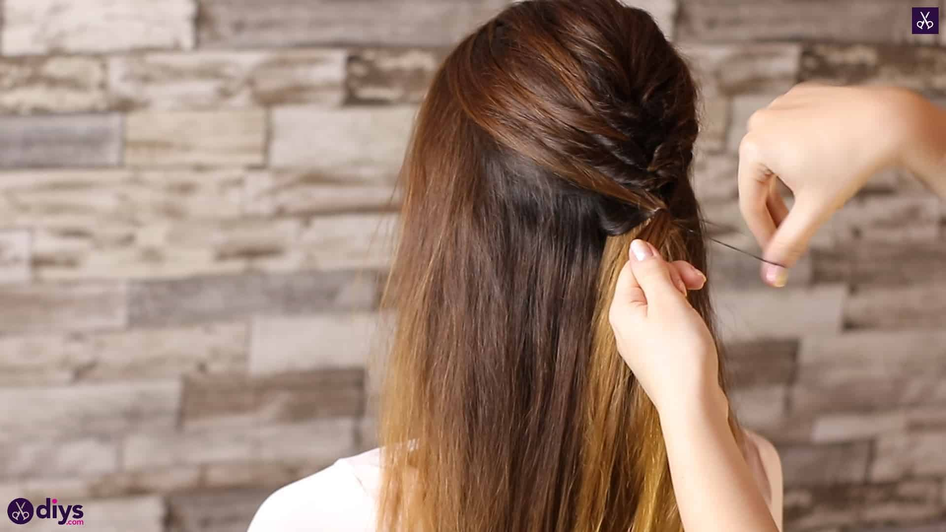 Beautiful and elegant hairstyle tutorial 28