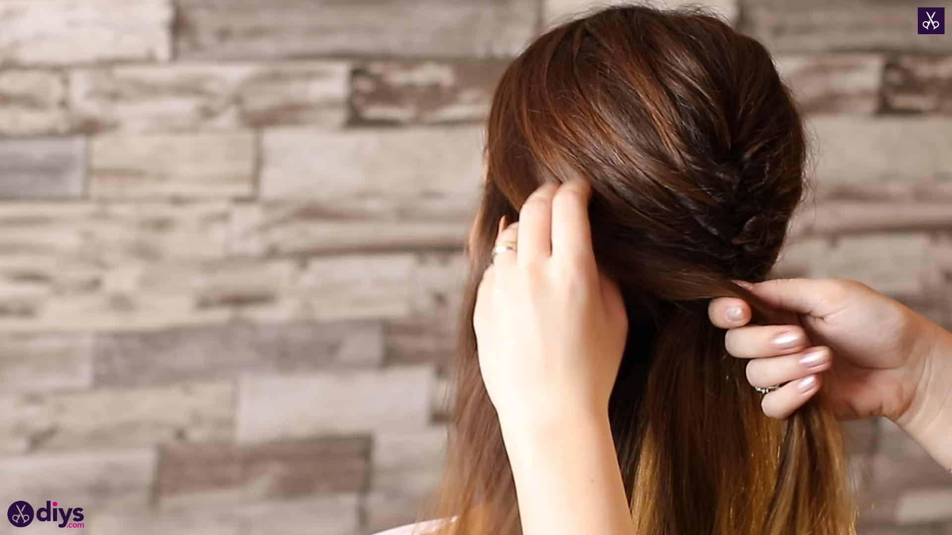 Beautiful and elegant hairstyle tutorial 31