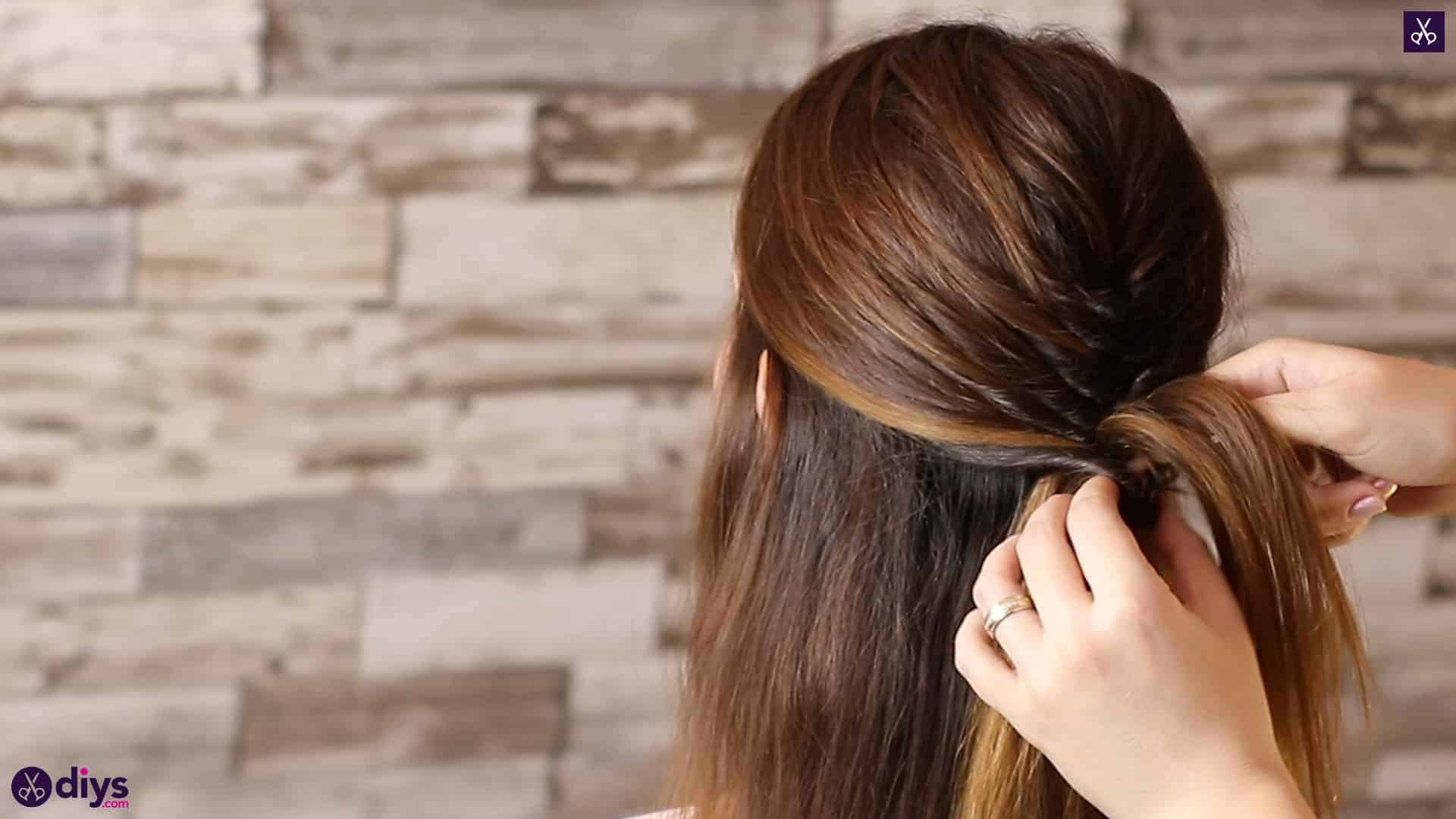 Beautiful and elegant hairstyle tutorial 34