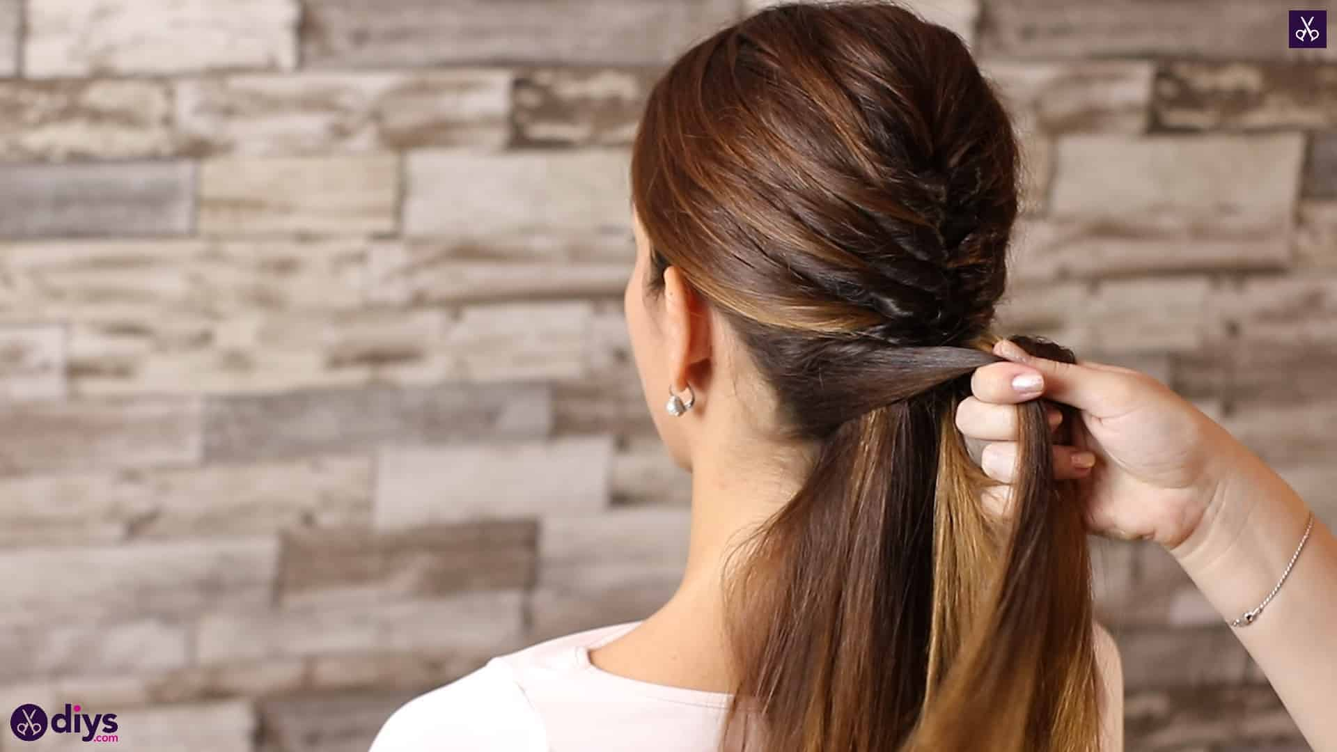 Beautiful and elegant hairstyle tutorial 39
