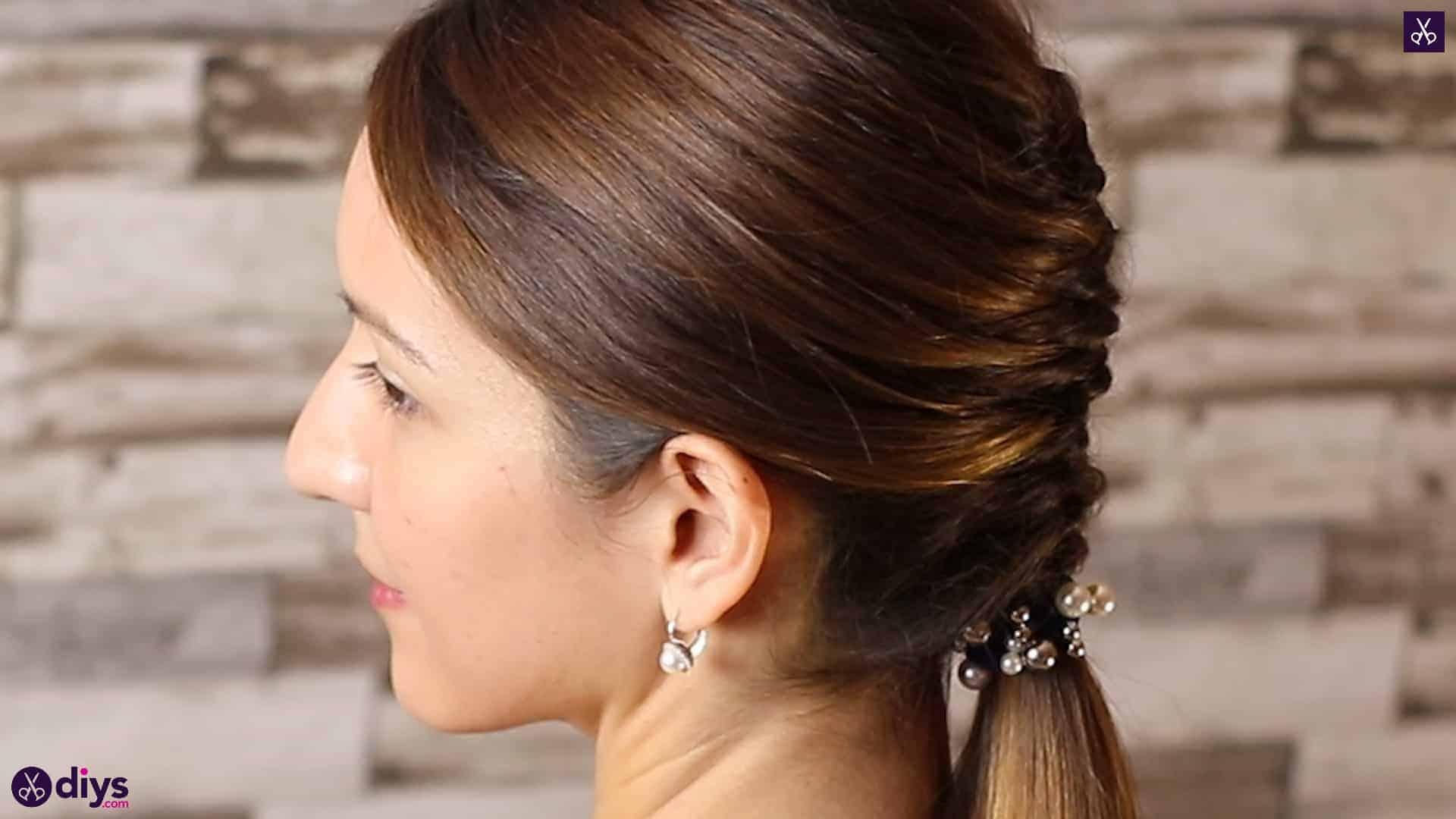Beautiful and elegant hairstyle tutorial 4