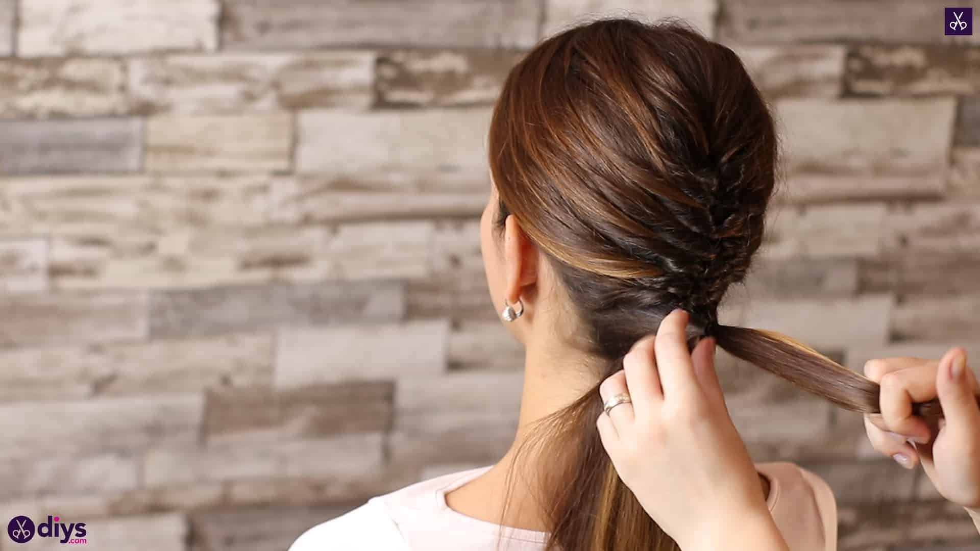 Beautiful and elegant hairstyle tutorial 42