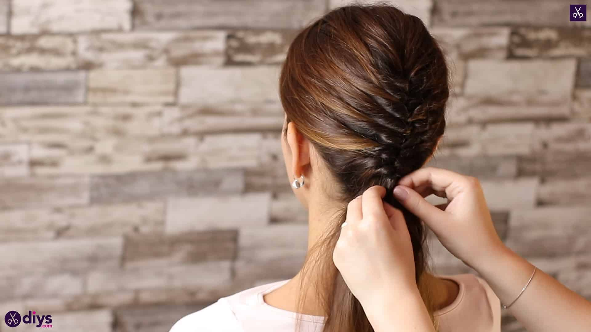 Beautiful and elegant hairstyle tutorial 43