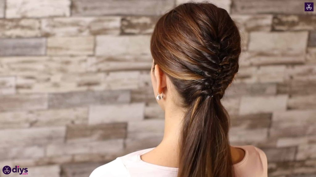Beautiful and elegant hairstyle tutorial 444