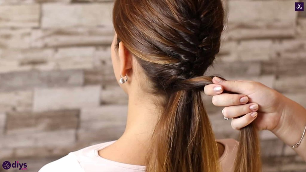 Beautiful and elegant hairstyle tutorial 46