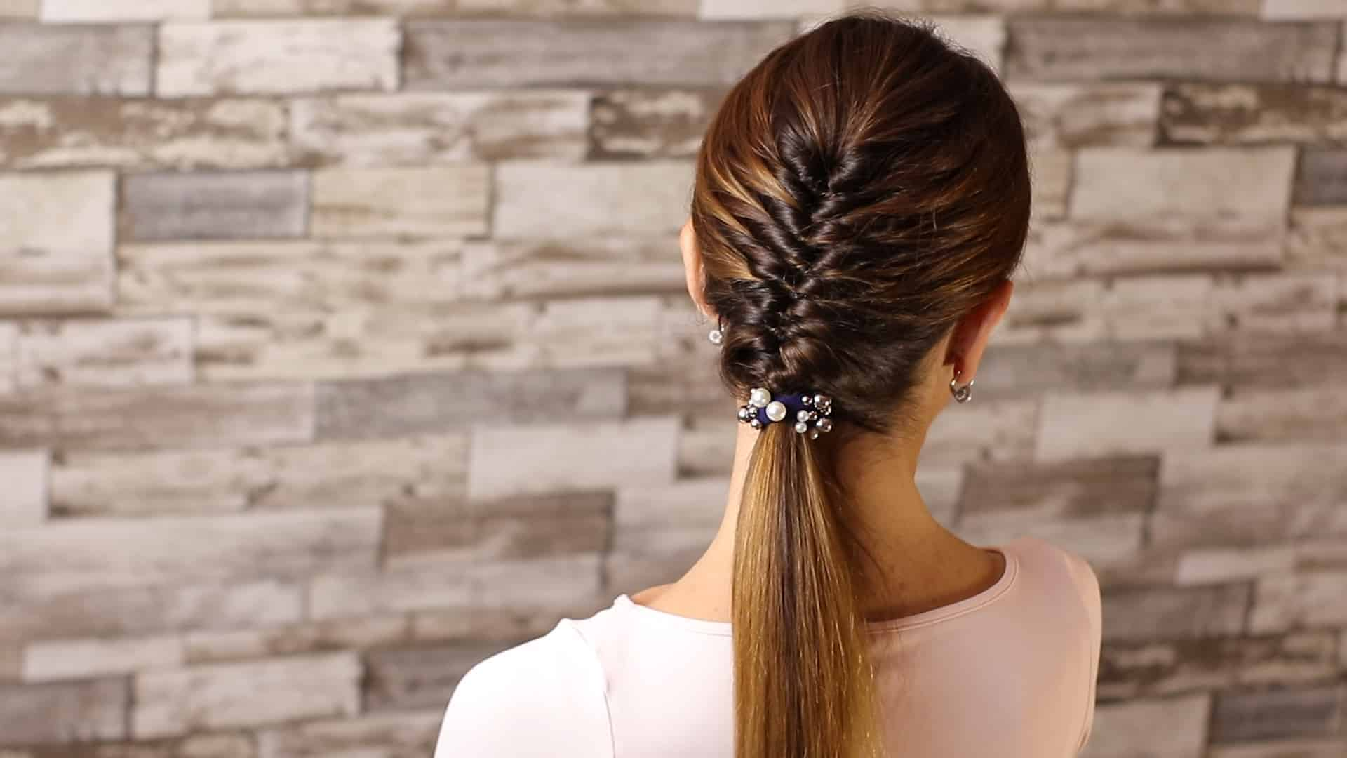 Beautiful and elegant hairstyle tutorial 460