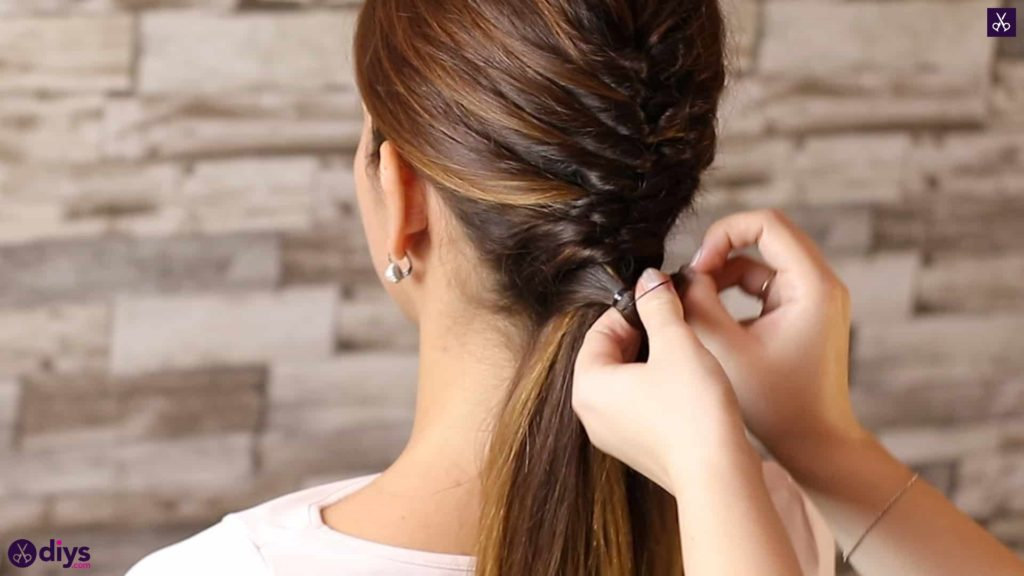 Beautiful and elegant hairstyle tutorial 47