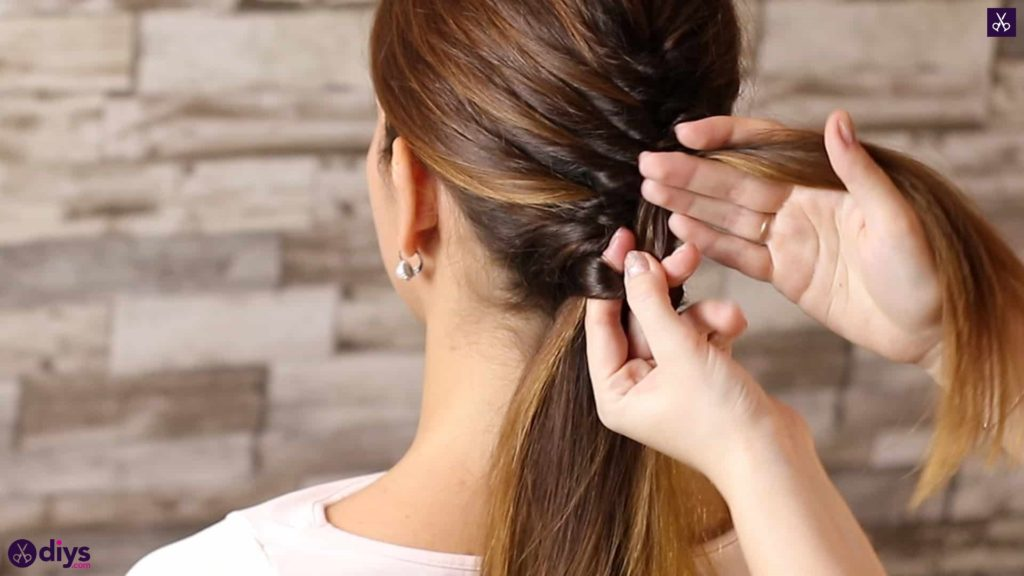 Beautiful and elegant hairstyle tutorial 48