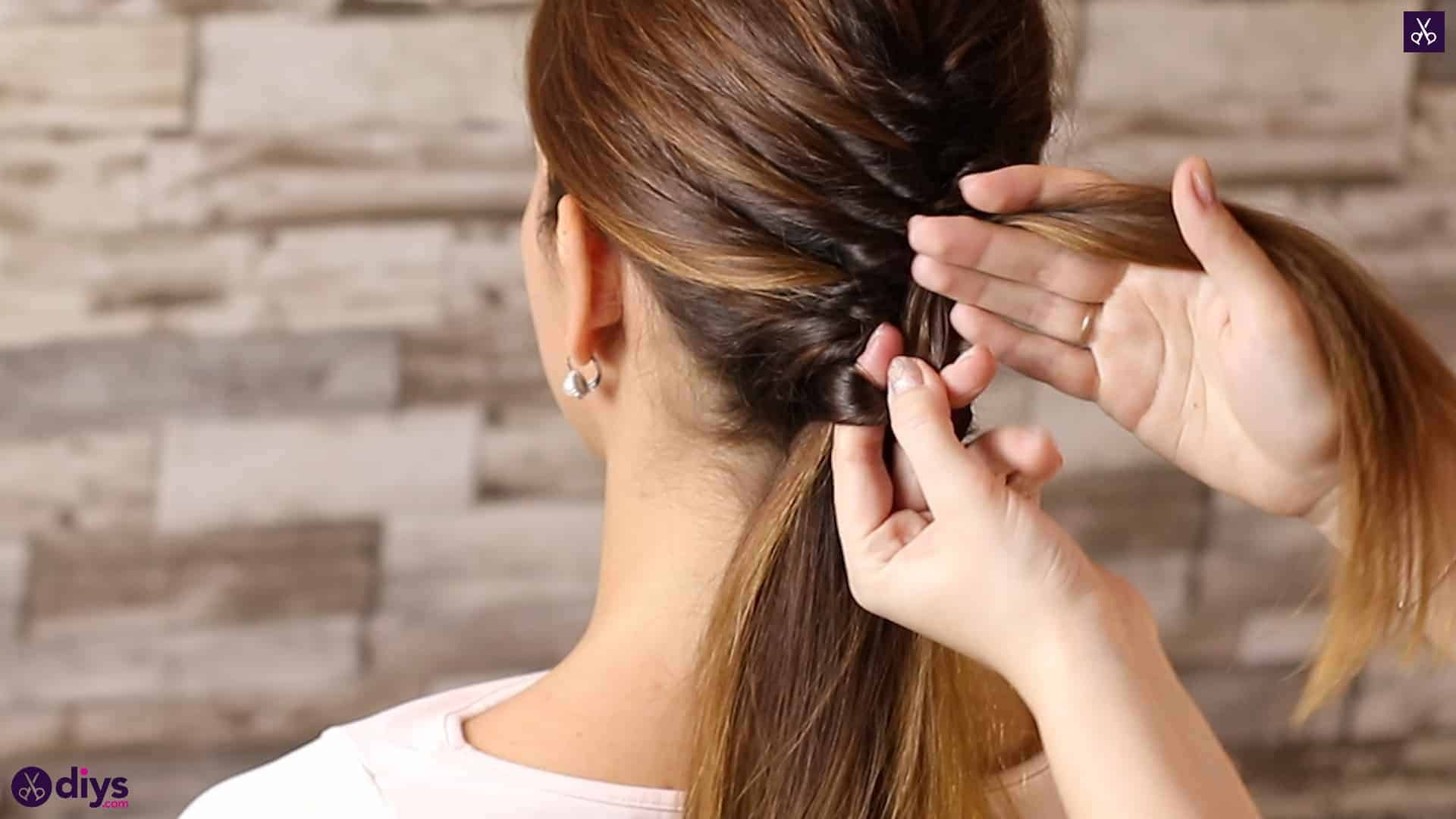 Beautiful and elegant hairstyle tutorial 48
