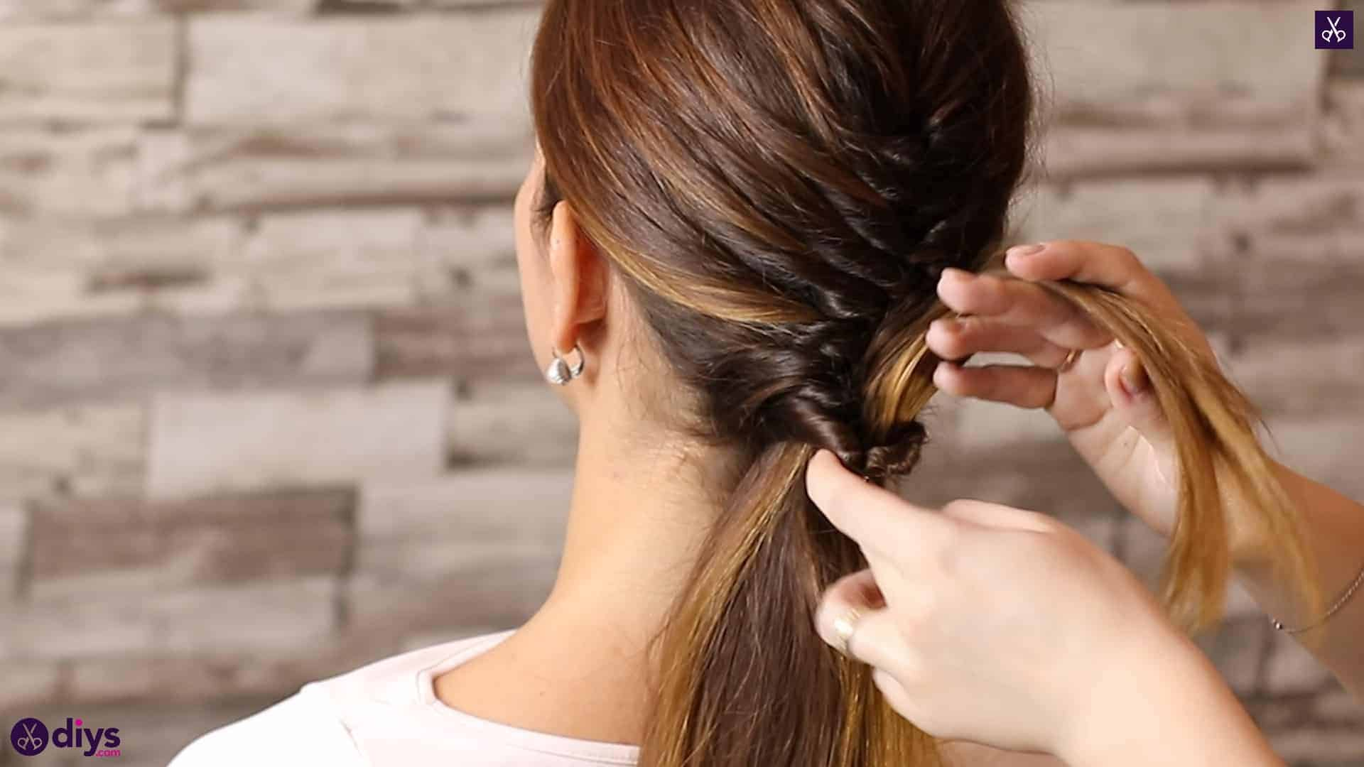 Beautiful and elegant hairstyle tutorial 49