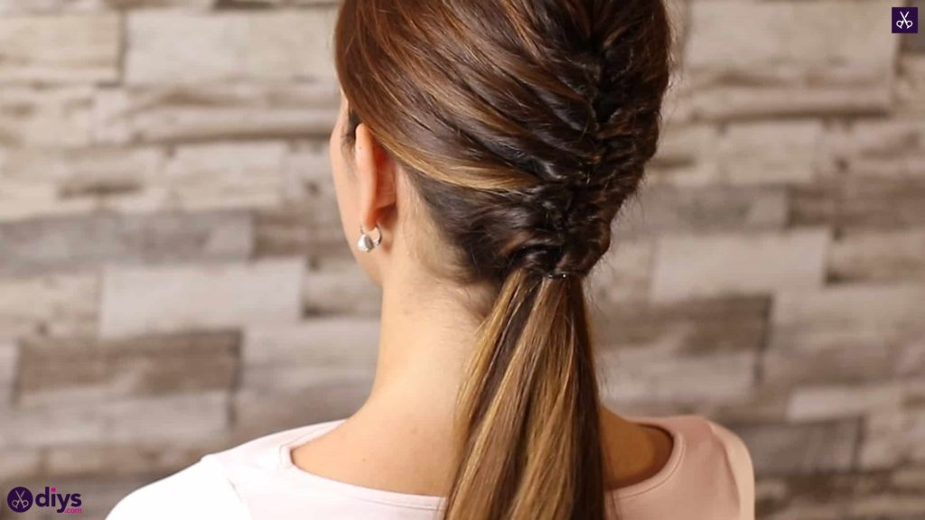 Beautiful and elegant hairstyle tutorial 50
