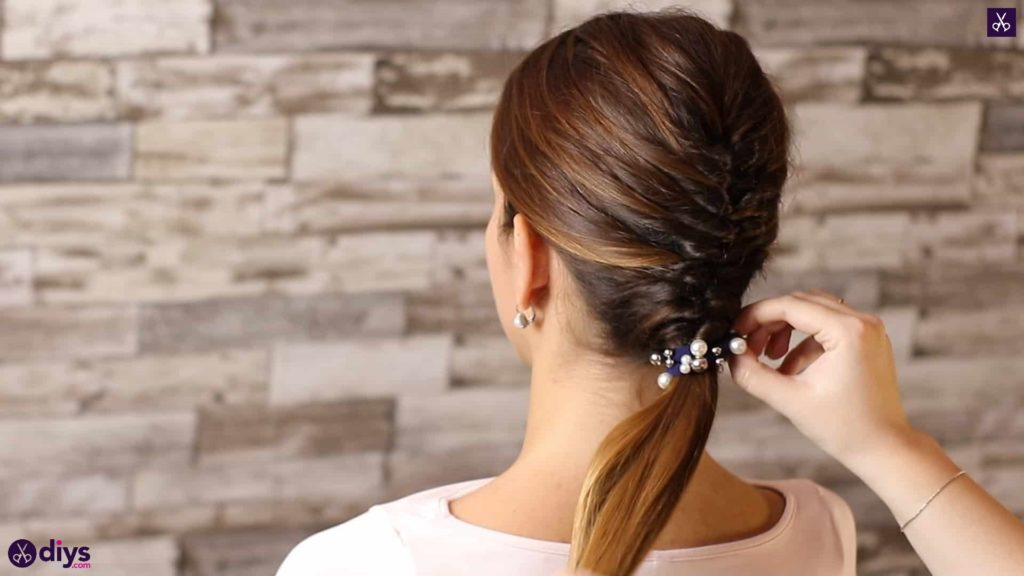 Beautiful and elegant hairstyle tutorial 53