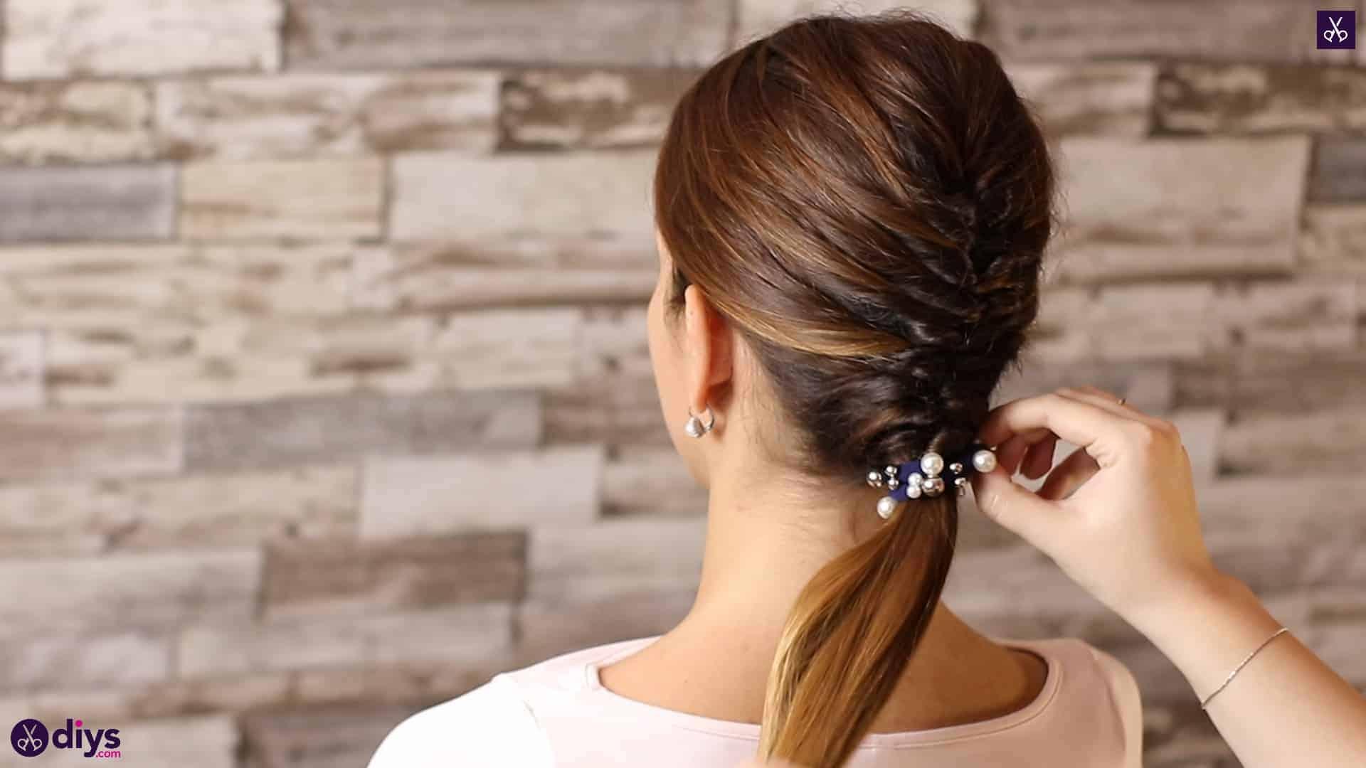 Beautiful and elegant hairstyle tutorial 53