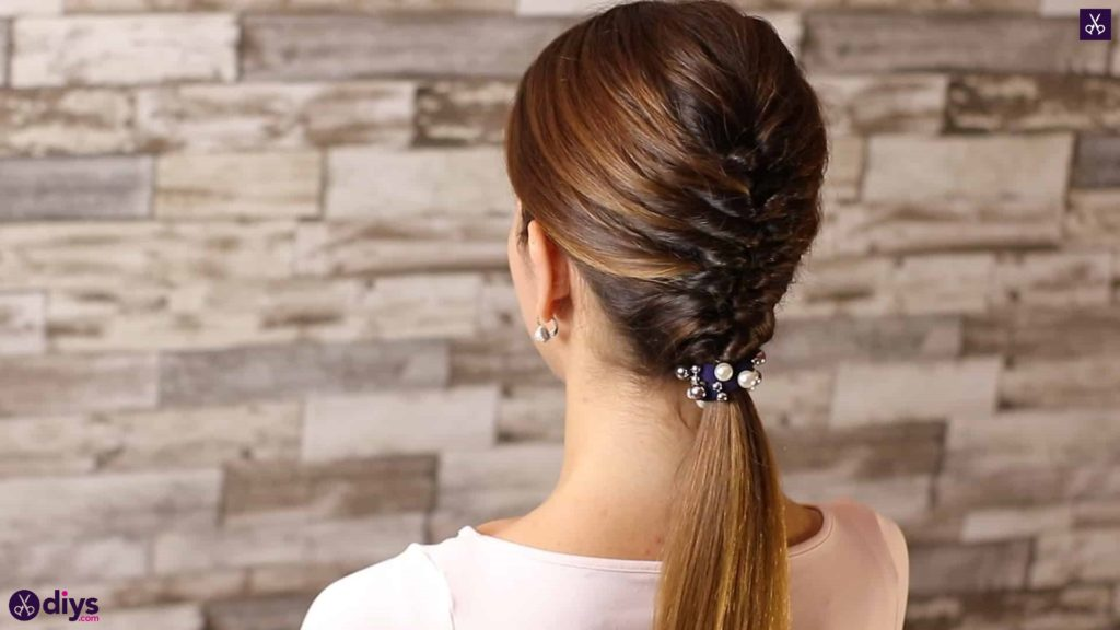Beautiful and elegant hairstyle tutorial 54