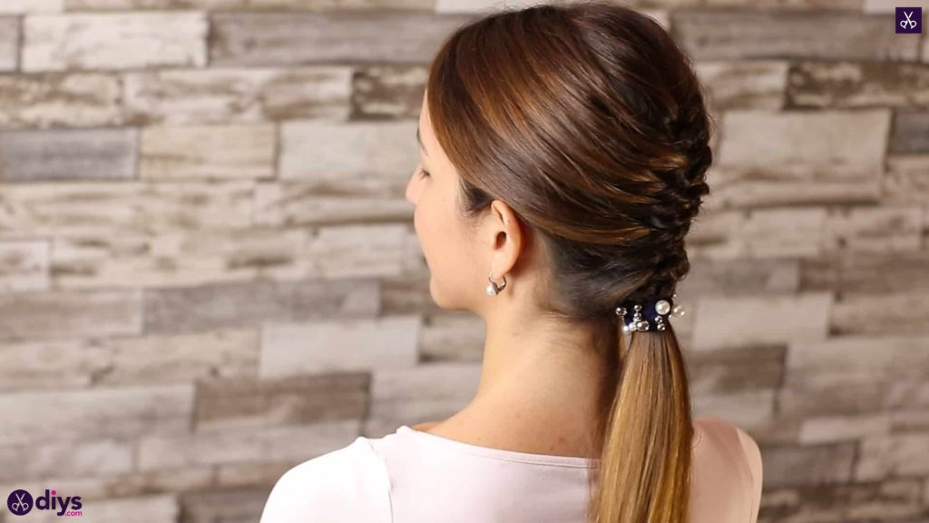 Beautiful and elegant hairstyle tutorial 55