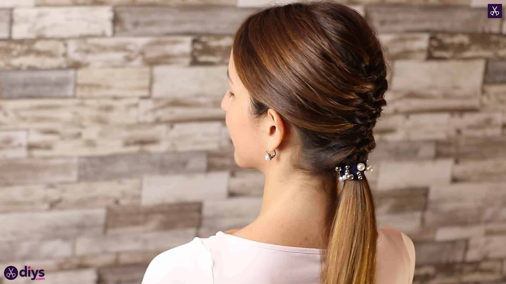 Beautiful and elegant hairstyle tutorial 55