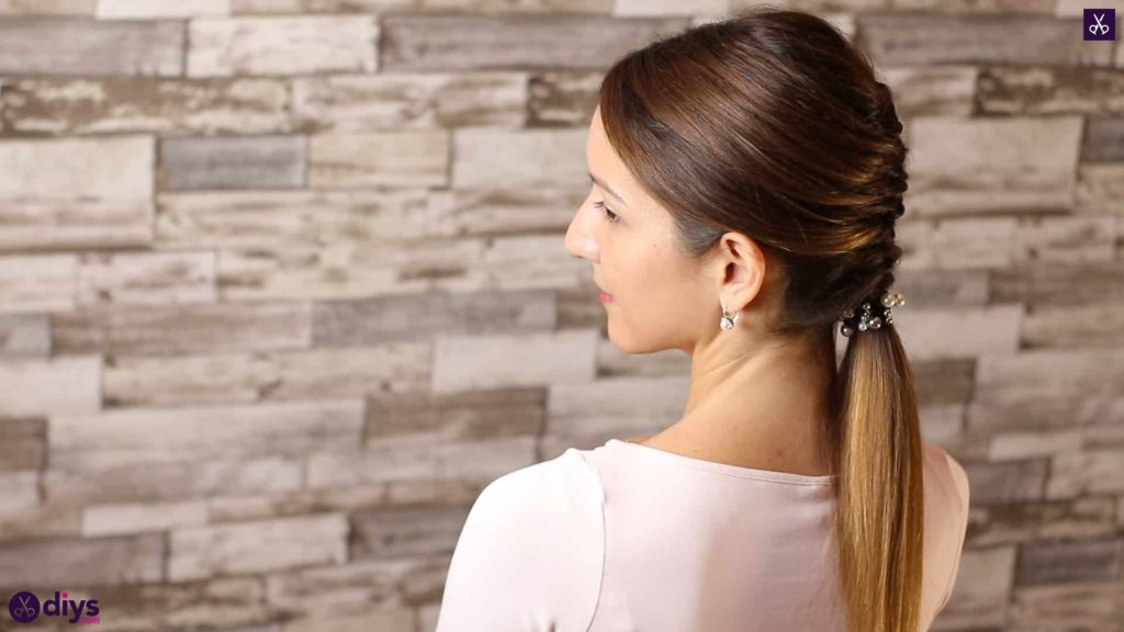 Beautiful and elegant hairstyle tutorial 56