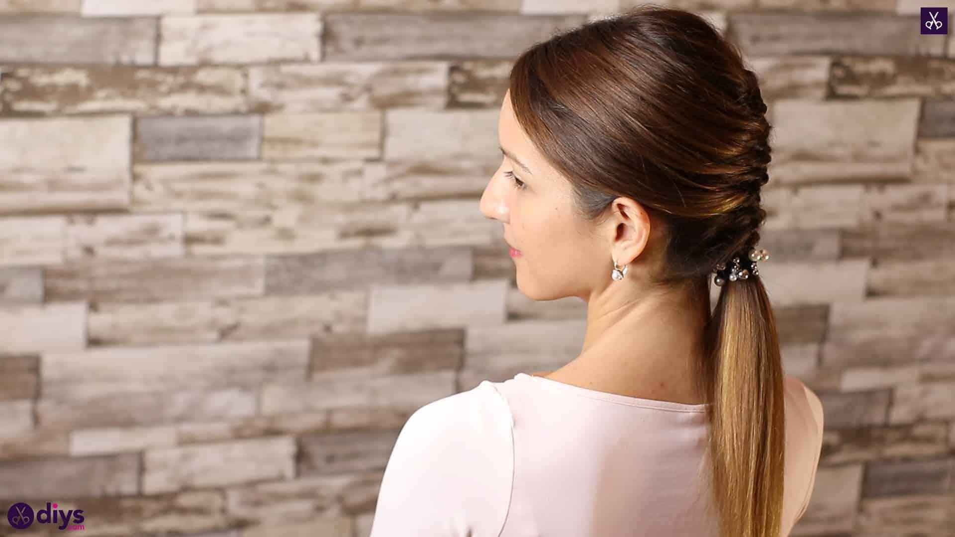 Beautiful and elegant hairstyle tutorial 56