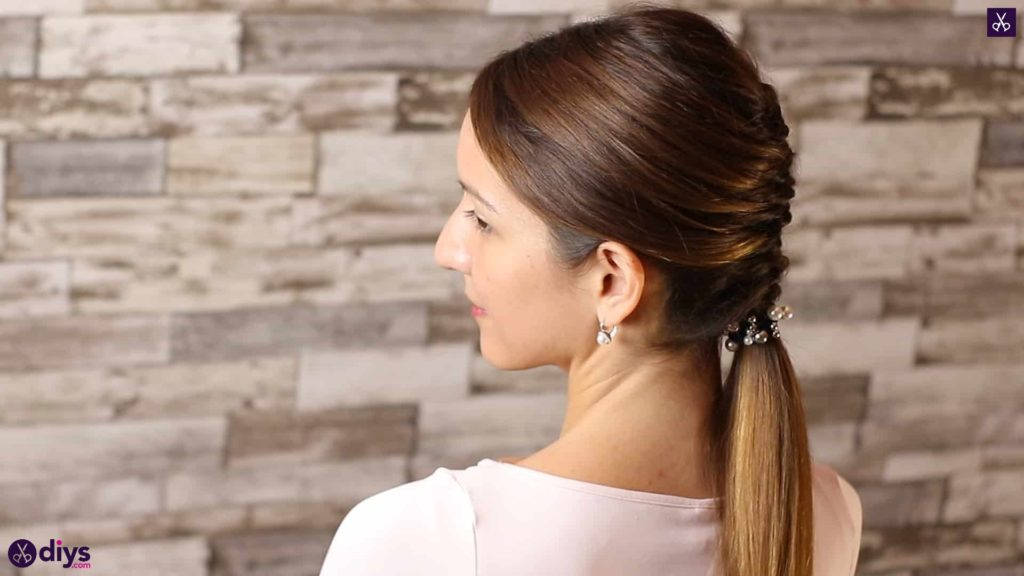 Beautiful and elegant hairstyle tutorial 57