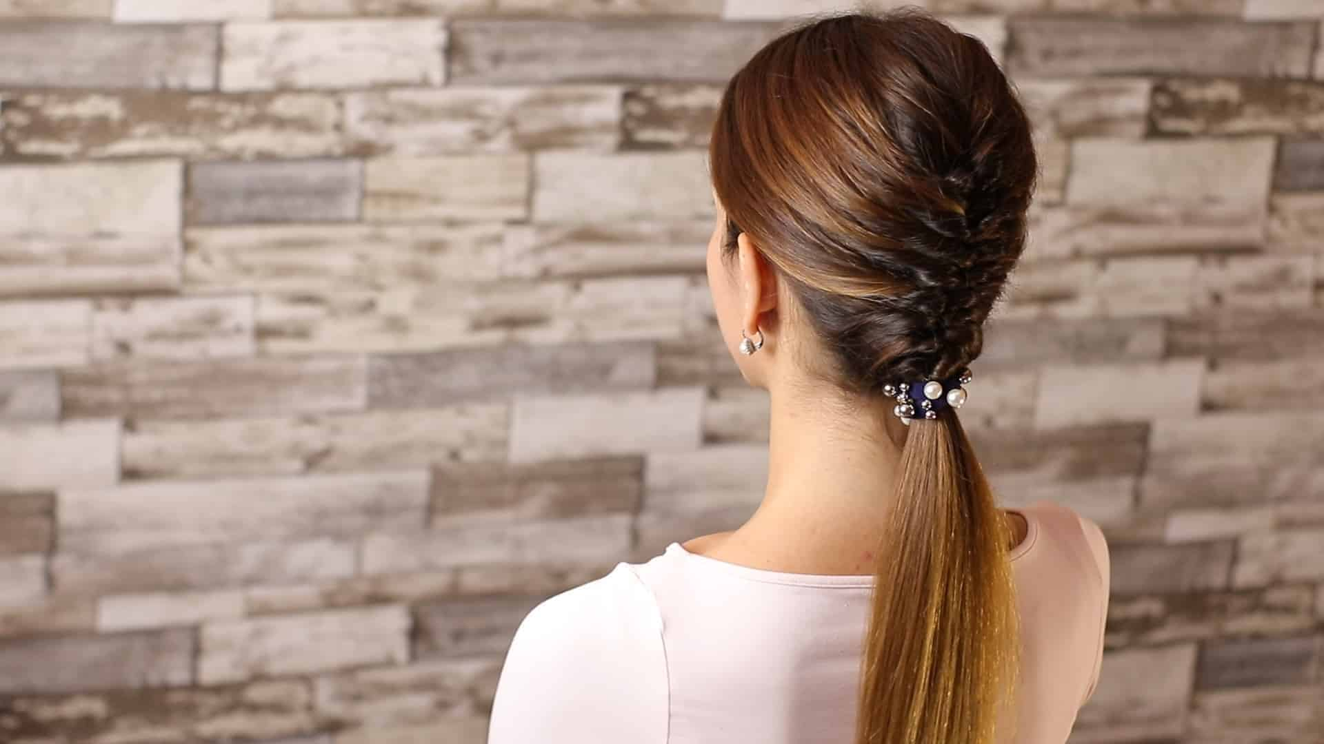 Beautiful and elegant hairstyle tutorial 58