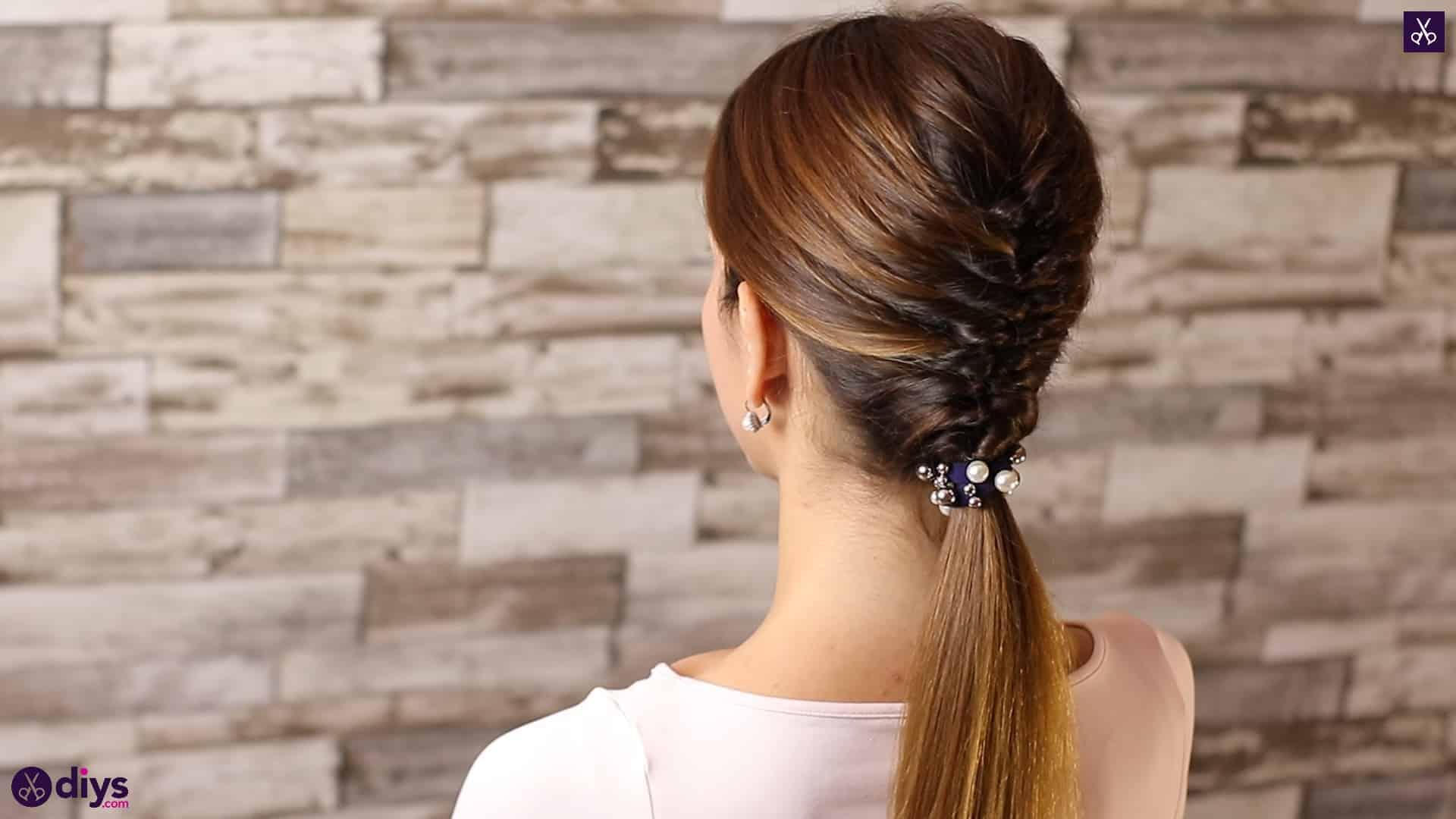 Beautiful and elegant hairstyle tutorial 6