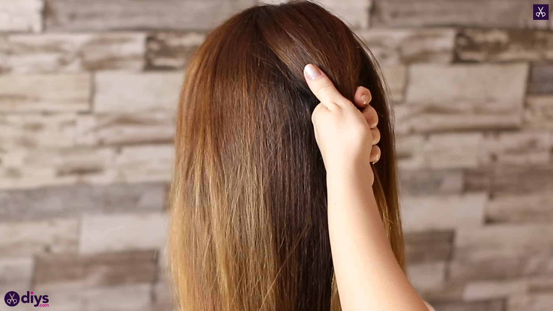 Beautiful and elegant hairstyle tutorial 7