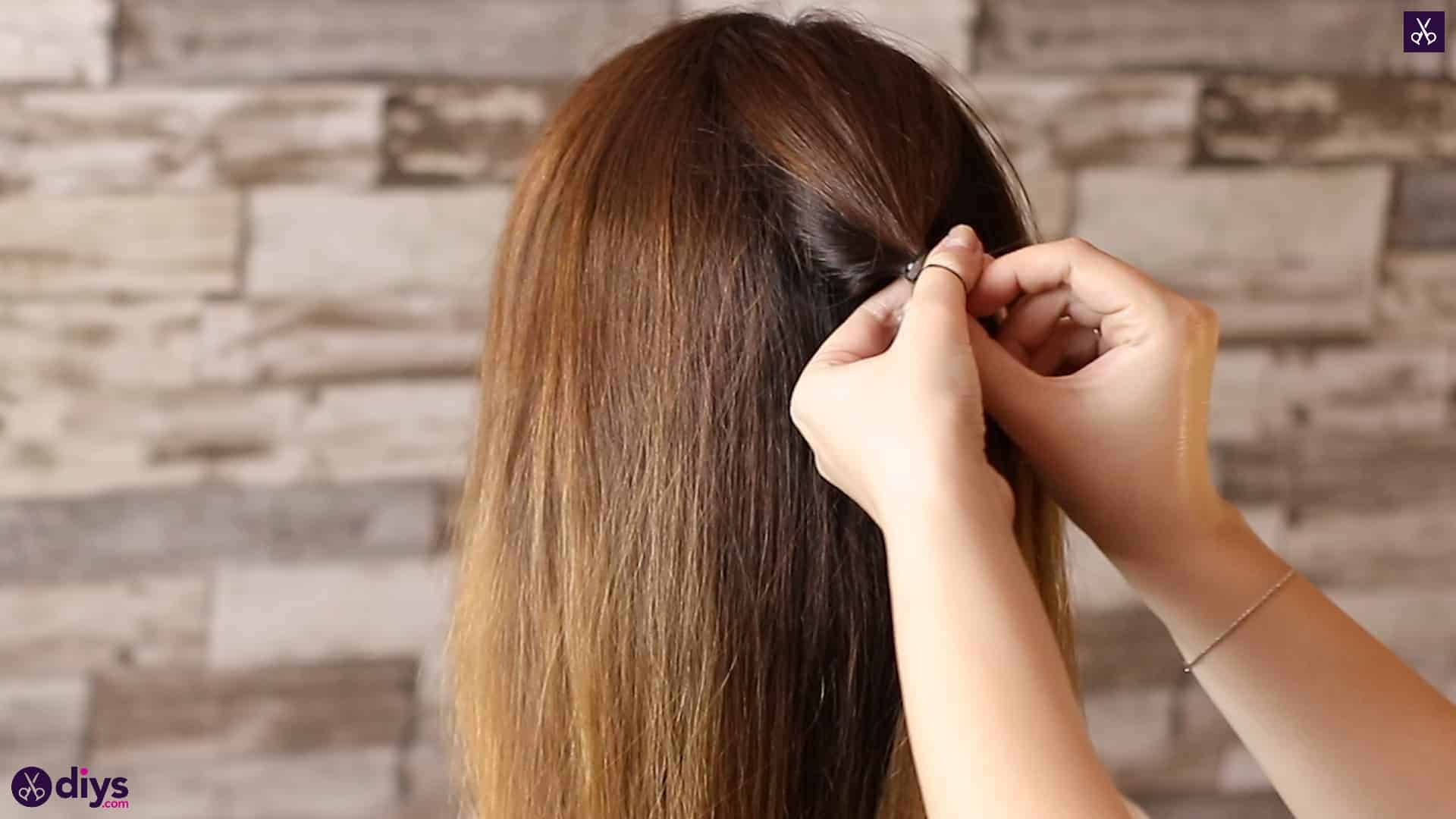 Beautiful and elegant hairstyle tutorial 8