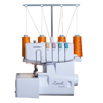 Brother 1034d 3:4 thread serger with differential feed