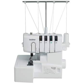 Brother r1634d 3 or 4 thread serger with differential feed