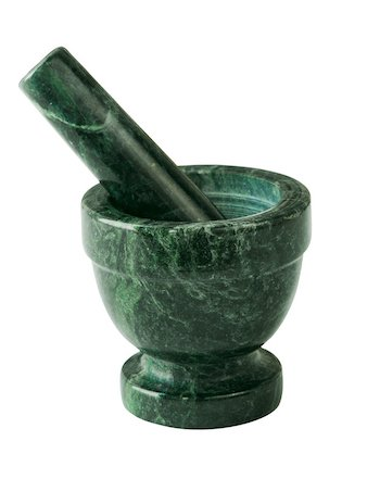 Click image to open expanded view fox run 3822 marble mortar and pestle