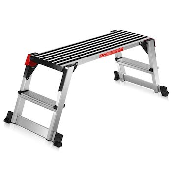 Click image to open expanded view giantex step stool folding step ladder portable work bench