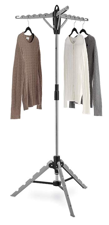 Click image to open expanded view video whitmor garment & drying rack