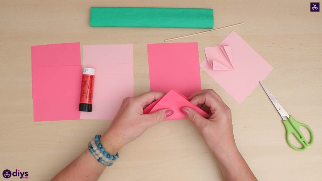 Diy 3d paper flower all materials
