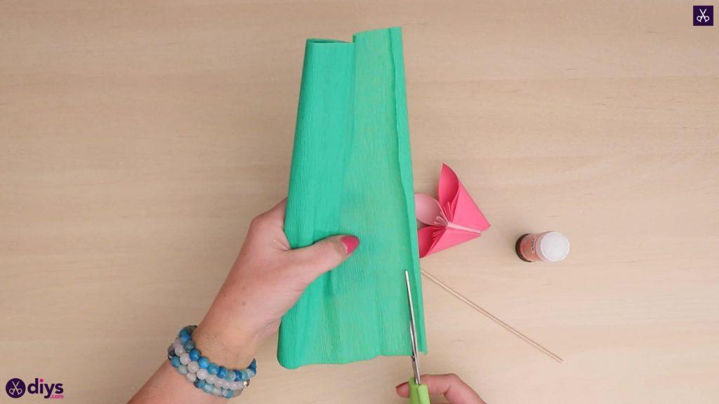 Diy 3d paper flower crepe paper