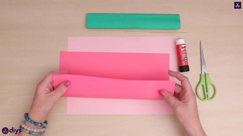 Diy 3d paper flower paper