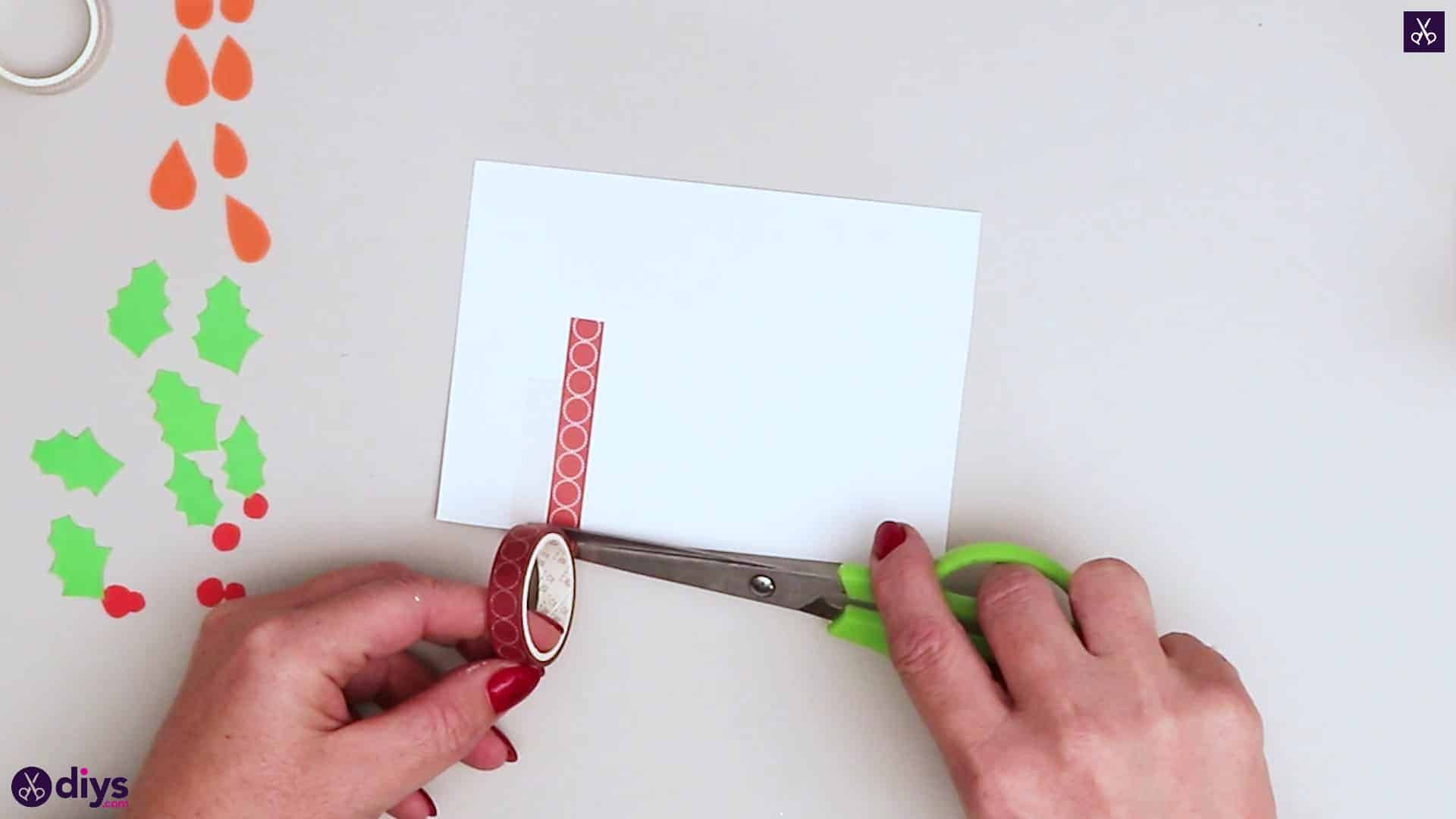 Diy birthday card step wahi tape