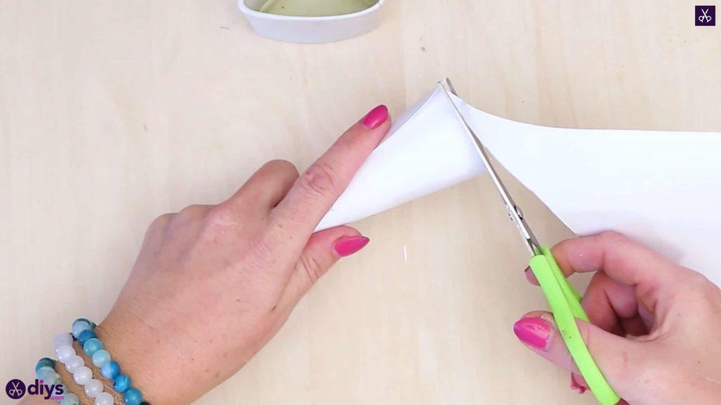 Diy concrete ring holder cutting