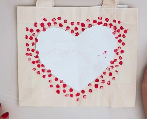 I Love You More Hearts All Over Beach Bag