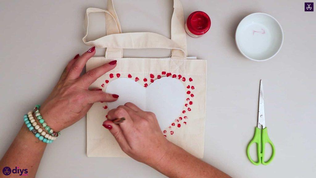 کیف حمل بار قلب قلب قرمز برای ولنتاین