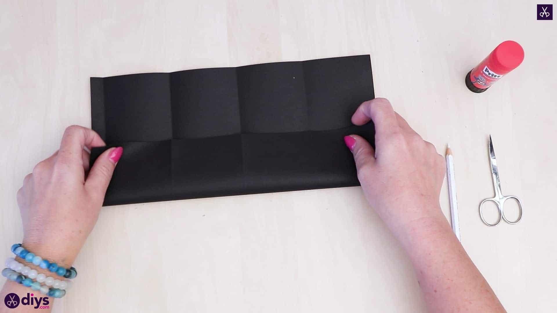 Diy paper lantern art geometric fold