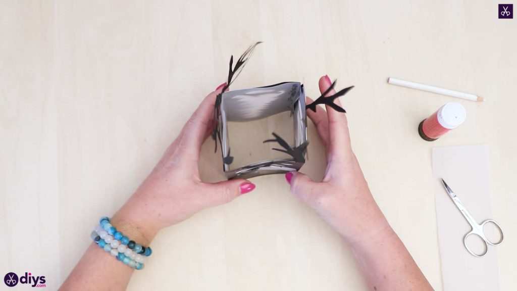 Diy paper lantern art step 6bc
