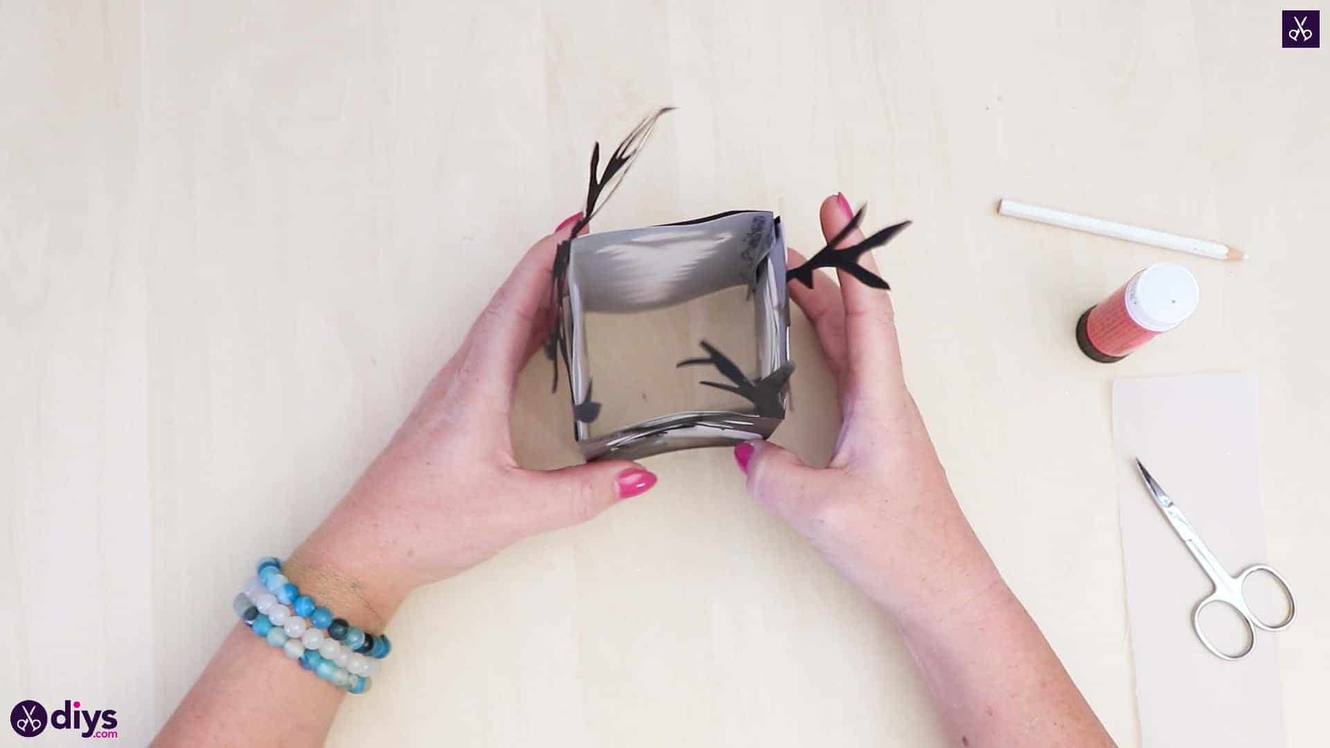 Diy paper lantern art step 6bc