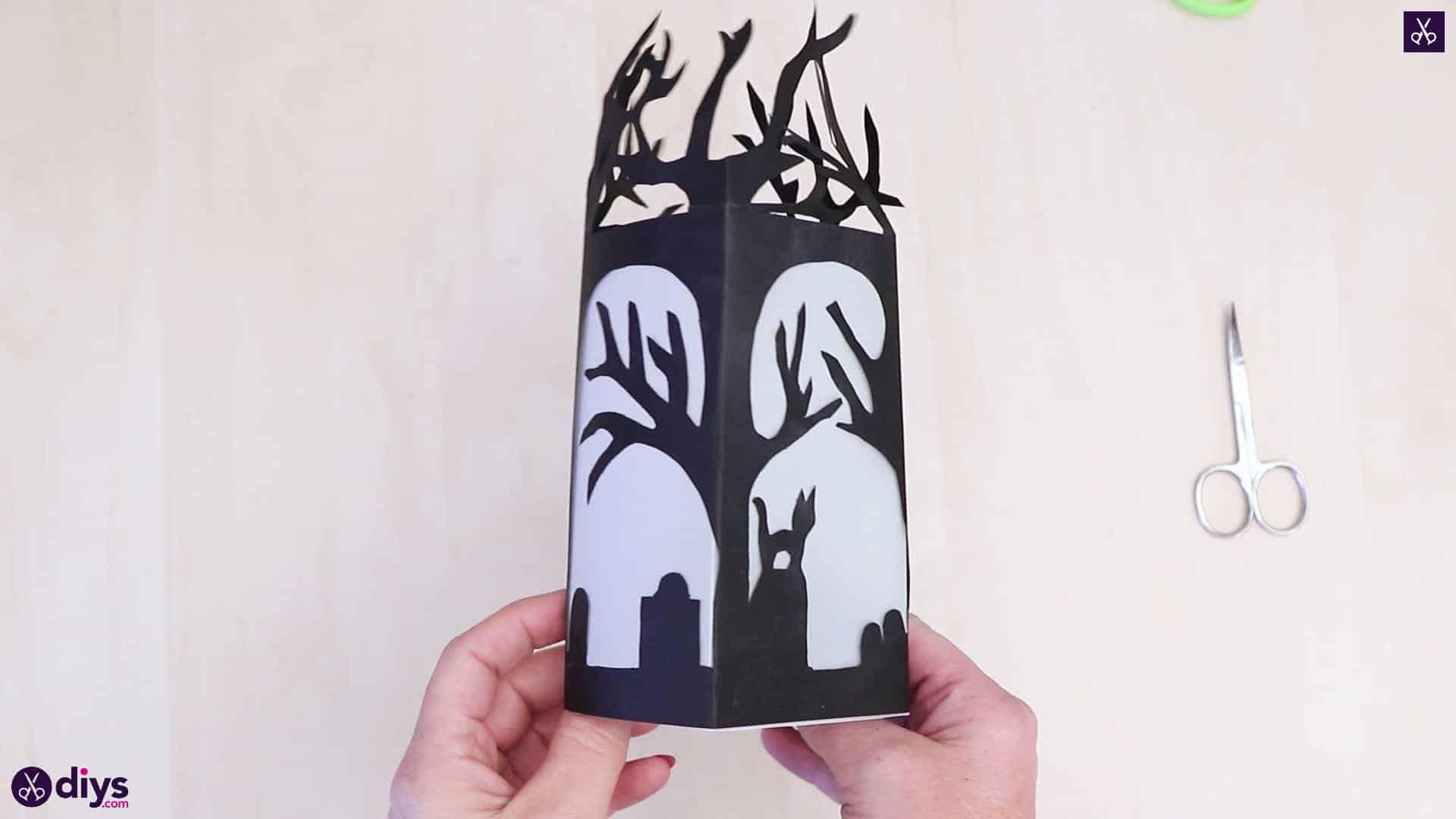 Diy paper lantern art