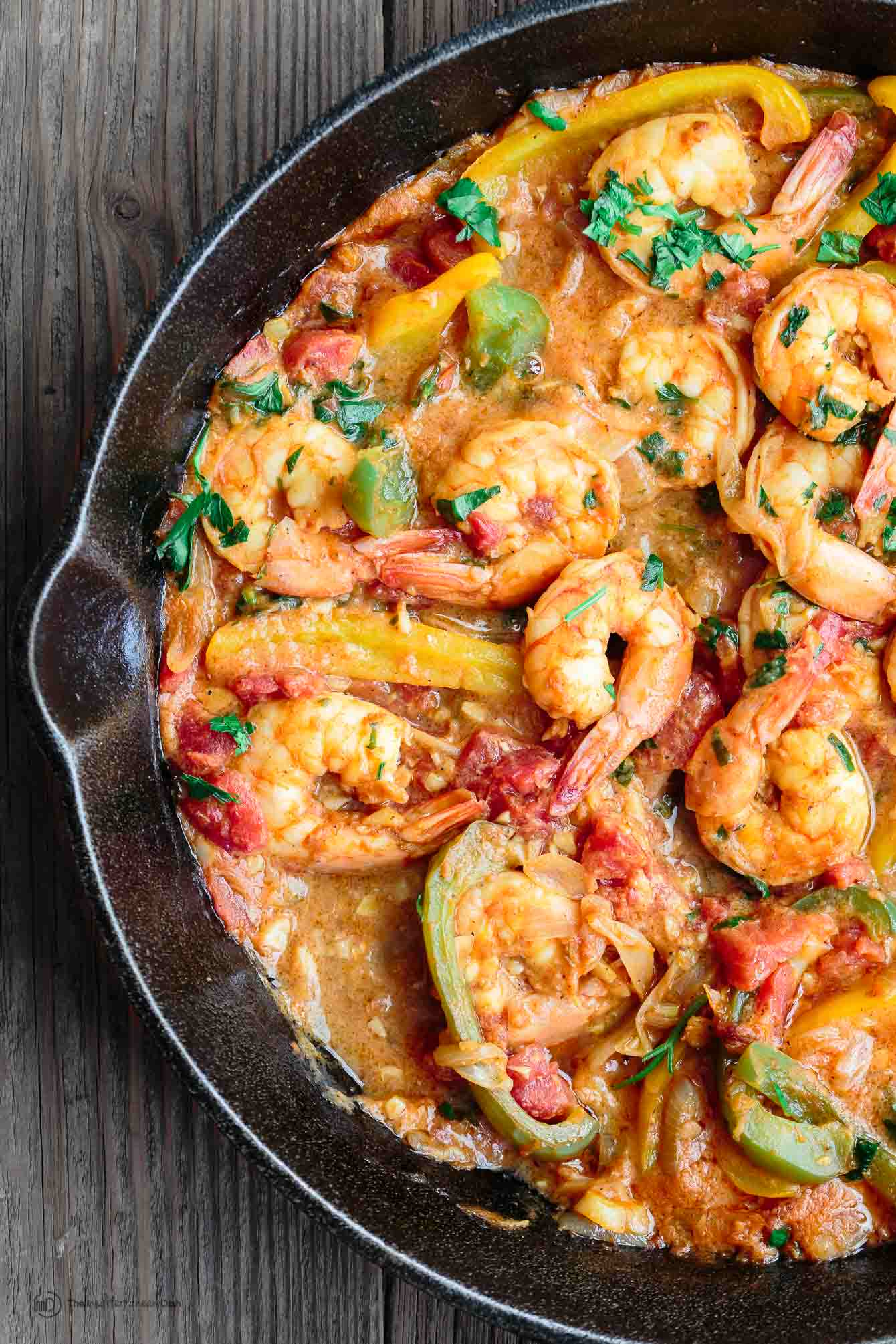 Easy mediterranean shrimp