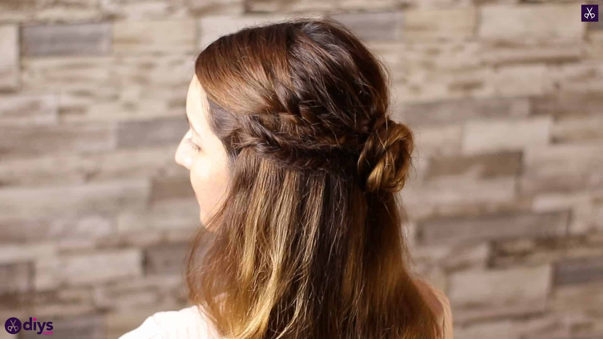 Half up, half down hairstyle for spring6