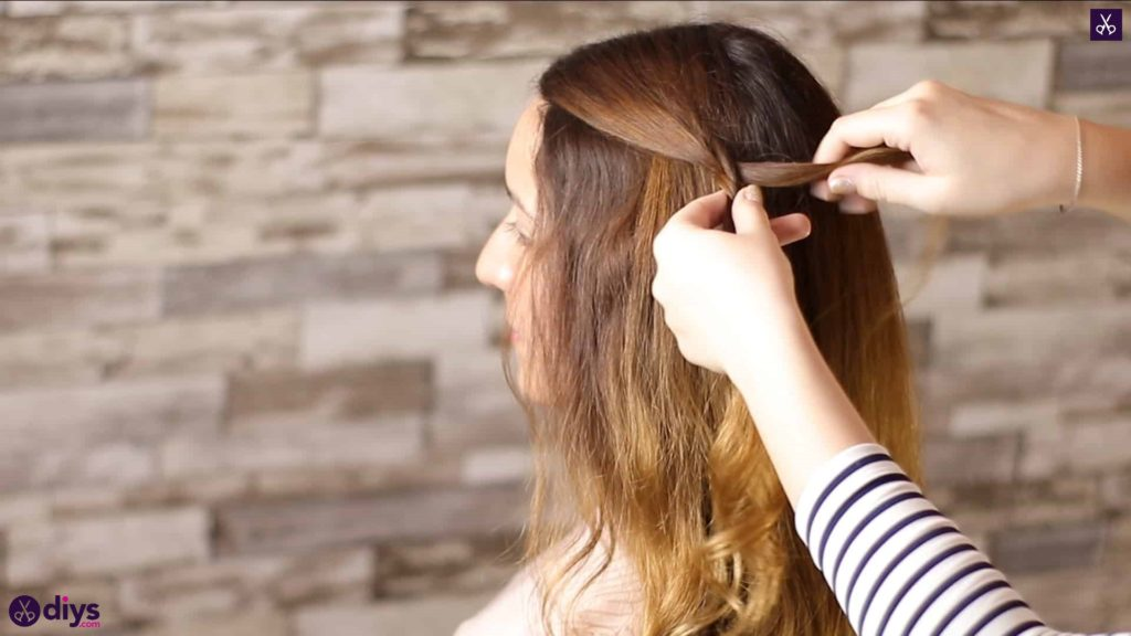 Half up, half down hairstyle for spring9