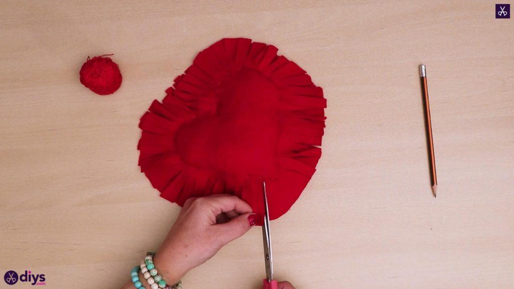 How to make a heart pillow 8b
